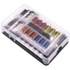 QLEC 12 WAY PREMIUM FUSE BOX...