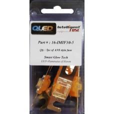 QLED 'Intelligent' ANS FUSE 30Amp X 5pcs