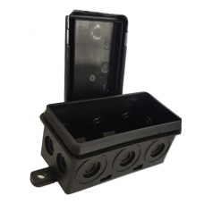WEATHER PROOF L/DUTY J-BOX Black...