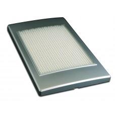 INTERIOR/ EXTERIOR LAMP- 12V, SATIN SILVER, IP66 RATED