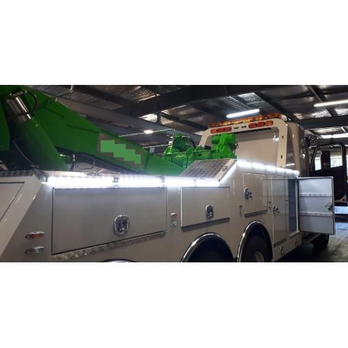 Black 12v Led Awning Strip Light Exterior Camping Rv: LED 12v Outdoor High Powered Annexe / Scene Strip Light