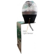 NAVIGATION 2NM, ALL ROUND/ ANCHOR WHITE with automatic illumination via a Light Sensor, 360DEG., 9-33V