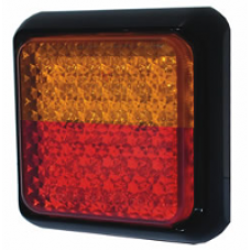 LED 80 SERIES 12~24V SINGLE STOP- TAIL/ INDICATOR COMBO LAMP, COMMERCIAL