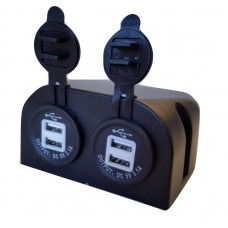 USB/ USB POWER SOCKET 12~24v SURFACE MOUNT
