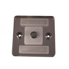 SMALL SQUARE EURO LIGHT, DIMMABLE WITH NIGHT LIGHT