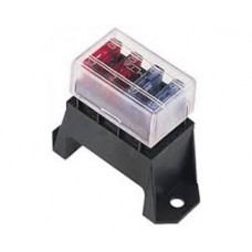 4 WAY UPRIGHT FUSE HOLDER with COVER