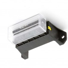 6 WAY UPRIGHT FUSE HOLDER with COVER