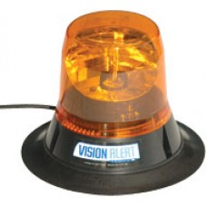 VISION BEACON, LOW PROFILE MAGNETIC, ROTATING, HALOGEN, 112KPH RATED