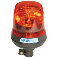 VISION BEACON, LOW PROFILE POLE MOUNT, ROTATING, HALOGEN (POLE MOUNT)