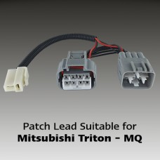 Mitsubishi MR Triton...VEHICLE DRIVING LAMP PATCH LEADS...