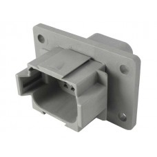 DT DEUTSCH L012 CONNECTOR 8 PIN {Flange Mount}