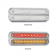 LED 235 Stop-Tail / Indicator Chrome Surface