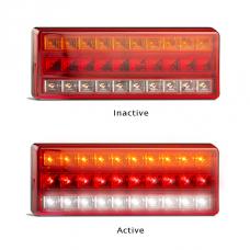 LED 275 SERIES 12V STOP- TAIL/ INDICATOR / REVERSE COMBO LAMP {L275}