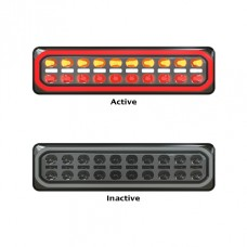 LED 3855 SERIES {Pair} RHS & LHS  STOP- TAIL/ SEQUENTIAL INDICATOR  / REV. COMBO HALO LAMP, MULTIVOLT...