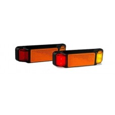 LED 38 SERIES AMBER/ RED MARKER LAMP