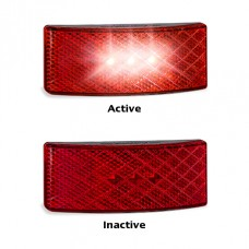 EU38 BLACK SERIES LED REFECTOR LAMP RED 3M TAPE...