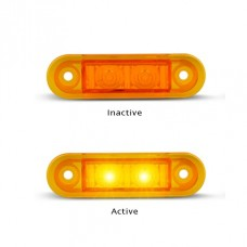 7922 SERIES LED MARKER LAMP AMBER