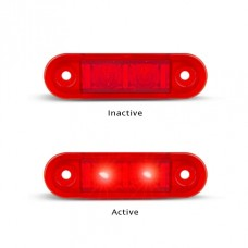 7922 SERIES LED MARKER LAMP RED