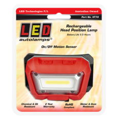 LED UTILITY HEAD LAMP, USB RECHARGABLE
