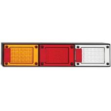 LED JUMBO SERIES 12~24V TRIPLE STOP- TAIL/ INDICATOR / REVERSE  COMBO LAMP, MULTIVOLT
