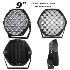 9 INCH DRIVING LIGHTS 185W {pr}