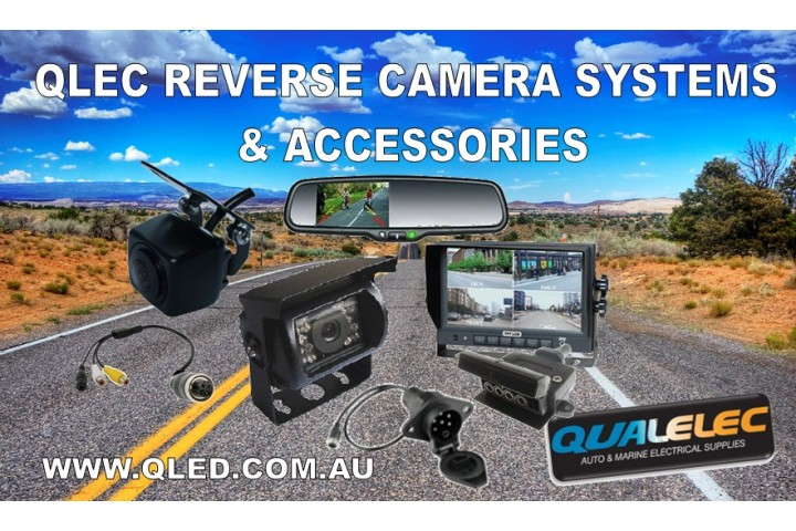 QLEC Reverse Cameras and monitors