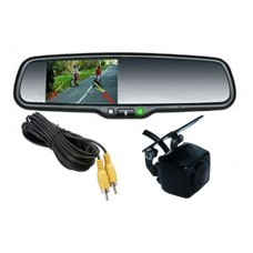 3.5'' OEM MIRROR REPLACEMENT MONITOR WITH CAMERA