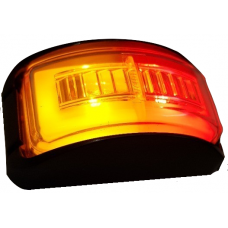LED W42 SERIES AMBER/ RED 'GloTrac' MARKER LAMP...