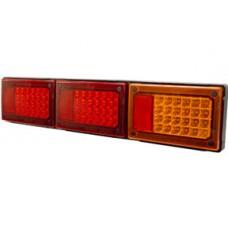 JUMBO HEAVY DUTY COMBINATION LED STOP/ TAIL X 2/ IND