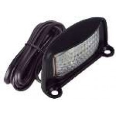 LED LICENCE / NUMBER PLATE LAMP + 6M CABLE